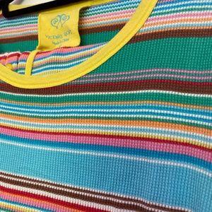 VS Thermal Pajamas Set Multi-color stripes